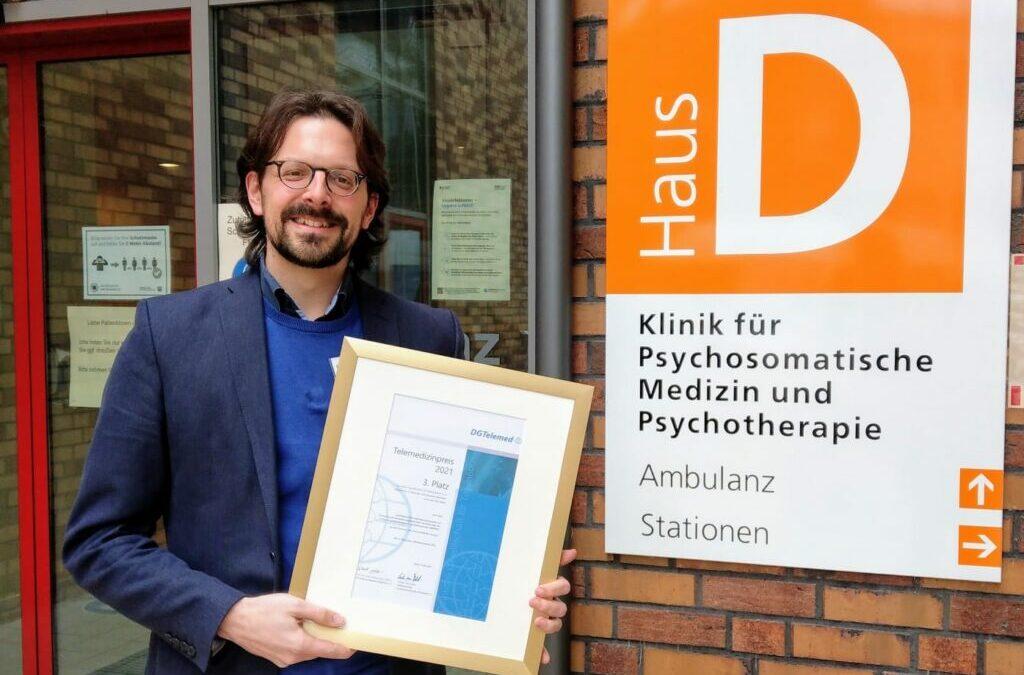 Deutscher Telemedizin-Preis 2021: OMPRIS erreicht den 3. Platz