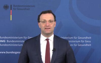 Bundesgesundheitsminister Spahn will mehr Digitalisierung bei Demenzversorgung